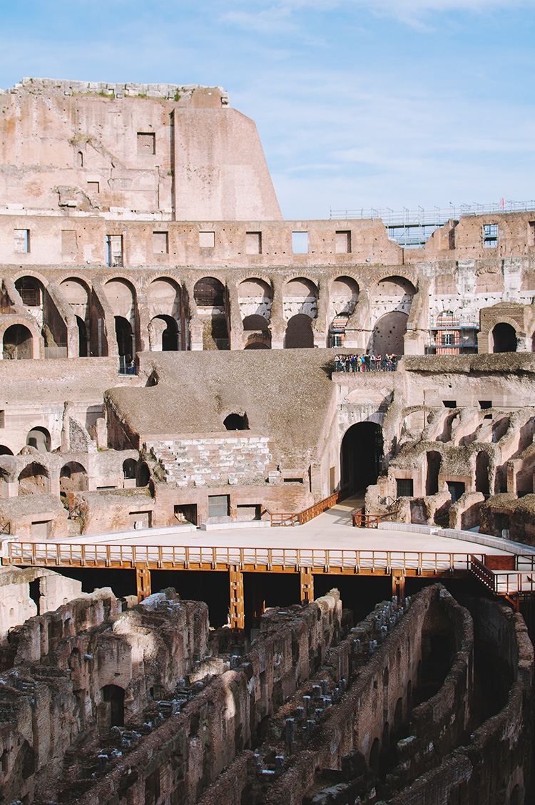 inside colosseum, colosseum interior, ancient roman building, ancient roman ruins
