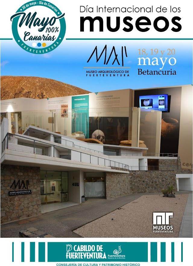 El Cabildo de Fuerteventura  organiza una programación especial para celebrar el Día Internacional de los Museos