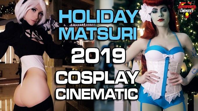 Mas cosplay desde Holiday Matsuri 2019