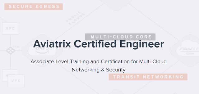 Aviatrix Certified Engineer ACE