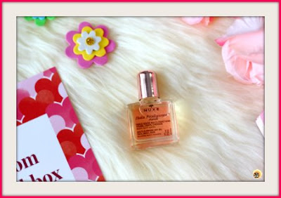 NUXE Huile Prodigiuese Florale, Birchbox february 2020 review