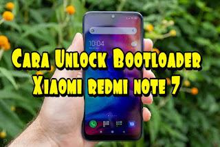 Cara UBL Xiaomi redmi note 7