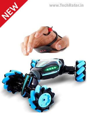 Remote Control Toy Cars with Gesture Sensing Controls