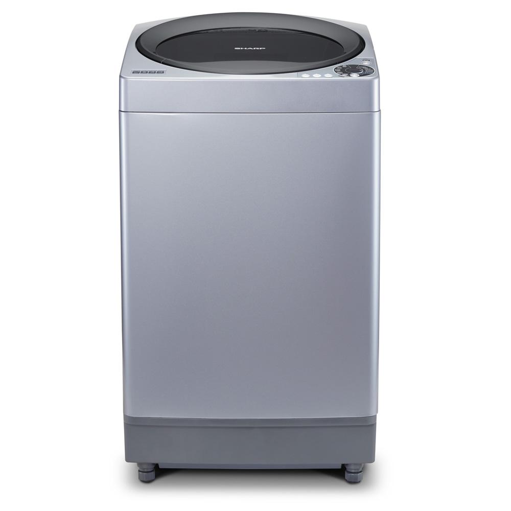 Sharp ES-M1008T-SA Megamouth Series mesin cuci sharpwashing machinees m1108t samesinesmtabung