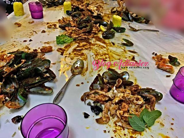 Perjumpaan MakCikKepoh Pasca Aidilfitri | Makan Seafood Lambak Di Rumah