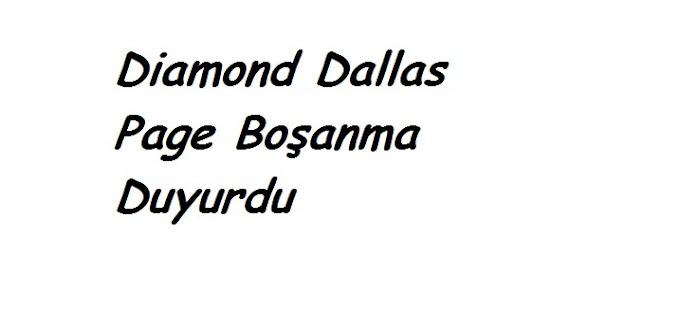 Diamond Dallas Page Boşanma Duyurdu