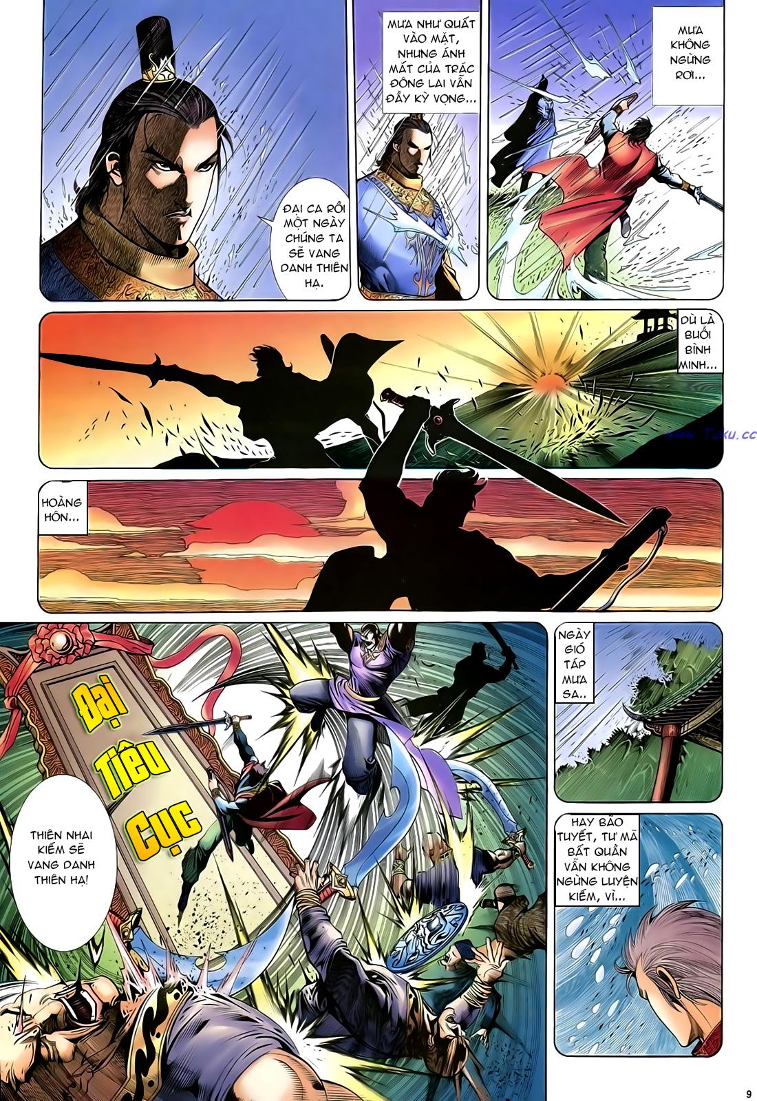 Anh hùng vô lệ Chap 24 trang 10