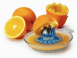 Cách pha nước cam không bị đắng