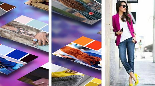 ee8bb2298 تنسيق الألوان في الملابس . يعد هذا التطبيق من أهم التطبيقات التي يجب أن  تتطلع عليها كل النساء من أجل الحصول على مظهر عصري أكثر ومن أجل التجديد في  ملابسك ...