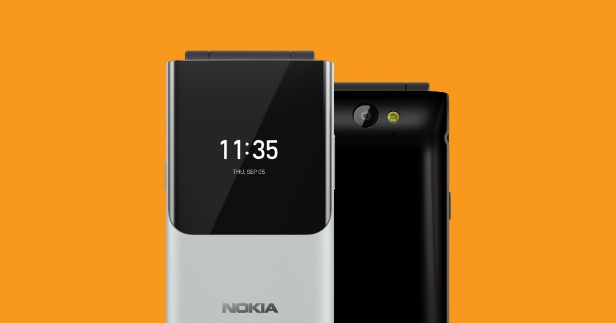 HP Nokia Lipat Terbaru 2019: Nokia 2720 Reborn