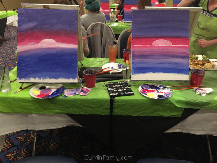 Date Night Idea Go To A Local Painting Party Our Mini Family