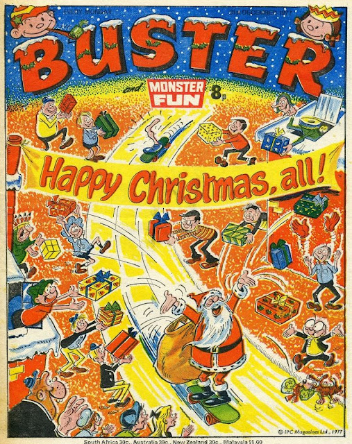 Buster and Monster Fun Christmas 1977