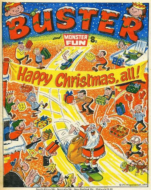 Buster and Monster Fun Christmas 1977