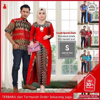GMS304 BTKSM305B48 Batik Couple Gamis Family Arabella Dropship SK1750369759