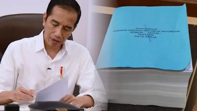 Koalisi Sipil Anggap Jokowi Beri Informasi Sesat soal Naskah UU Cipta Kerja