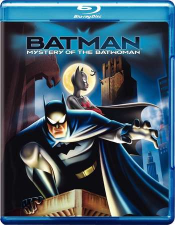Poster Of Batman Mystery of the Batwoman 2003 English 300MB BRRip 480p Free Download Watch Online