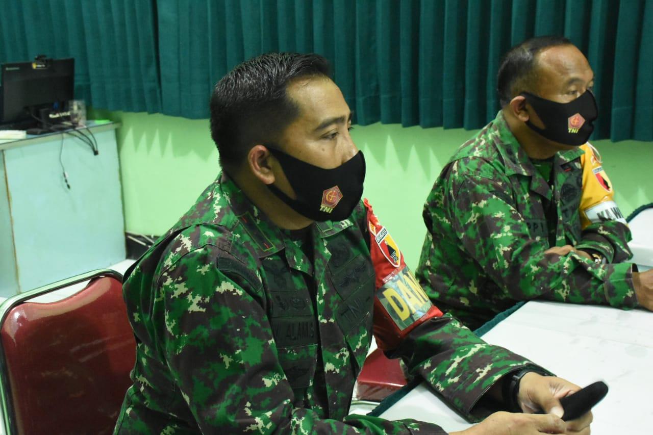 Jelang Latihan Gladi Posko I, Kodim 0803/Madiun Gelar Briefing Pelaku