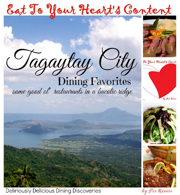 TAGAYTAY CITY RESTAURANTS