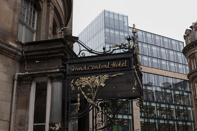 review and feature of the grand central hotel in glasgow