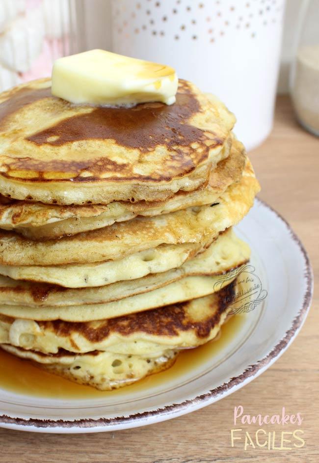 pancakes faciles rapides