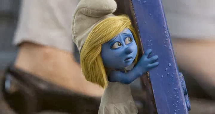 Screen Shot Of The Smurfs 2 (2013) English Movie 300MB Short Size PC Movie