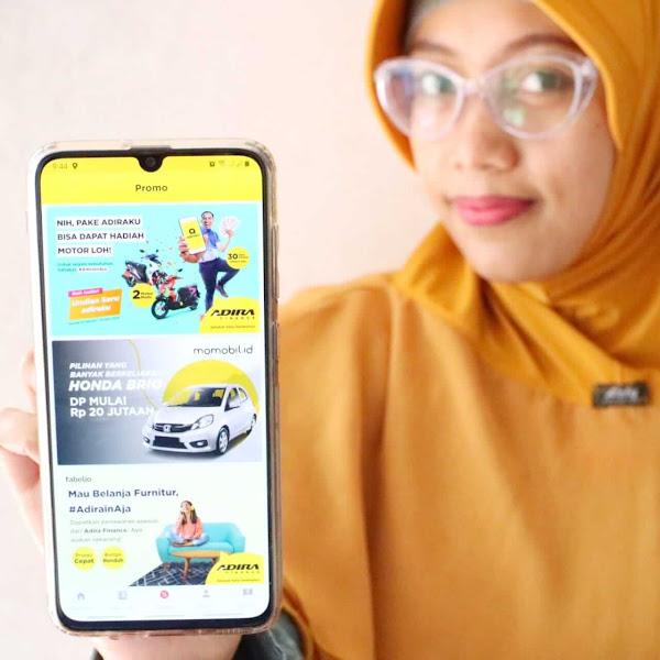 Adiraku : Aplikasi Digital dari Adira Finance untuk Memudahkan Kebutuhann Konsumennya