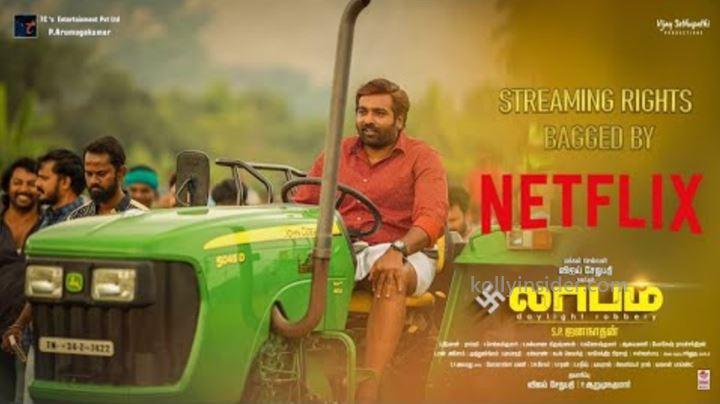 Vijay Sethupathi's 'Laabam' nearing completion, Netflix bags OTT rights
