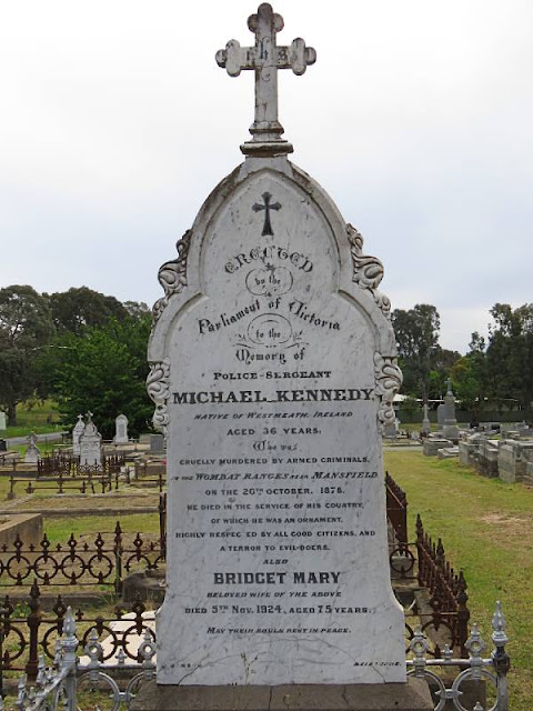 Grave of one of Ned Kelly's police victims