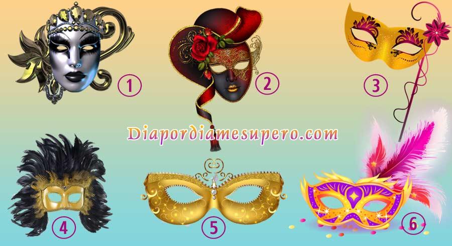 Test: Elige una máscara y descubre quién eres realmente