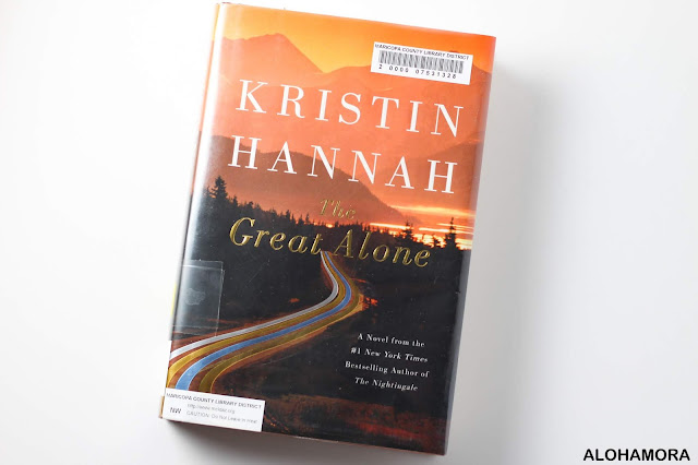 The Great Alone by Kristin Hannah is an adult lit (older teens could handle it especially if they loved Nightingale or Picoult books) book.  This strong female character is amazing. Set in the 70s. Deals with abuse and PTSD, and a page turner.  In my book review it gets 4.5 out of 5 stars.  Fantastic book! Check it out. Fiction. Vietnam War, Family, Alohamora Open a Book; alohamoraopenabook; www.alohamoraopenabook.blogspot.com