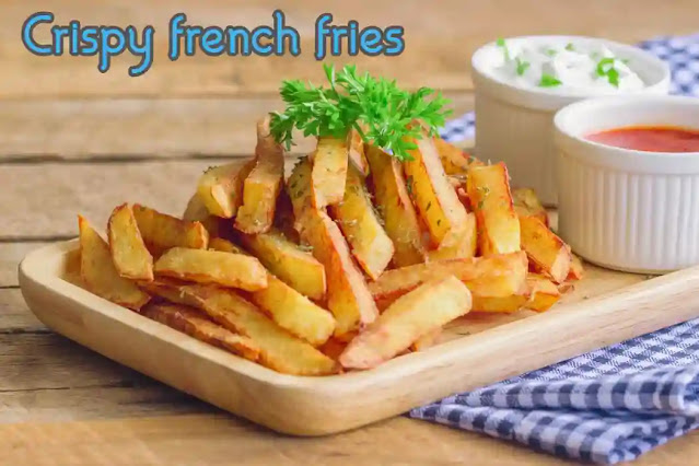 Perfect crispy french fries recipe at home