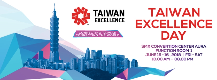 Taiwan Excellence Day in SMX Aura Convention Center
