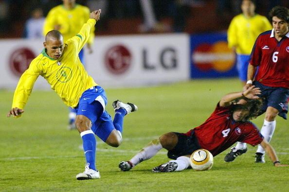 Brasil y Chile en Copa América 2004, 8 de julio