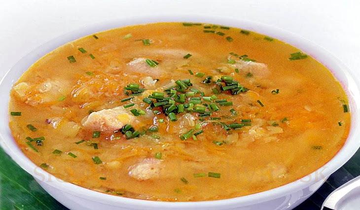 Pôstna polievka z rýb