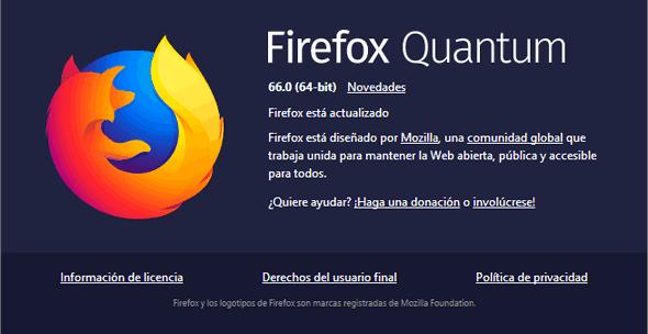 Disponible Firefox 66 con mejoras de búsqueda y mejor rendimiento