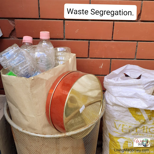 Segregation of Dry and Wet Waste
