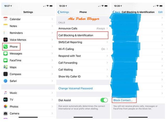 Cara Menyekat Nombor Peribadi di iOS dan Android