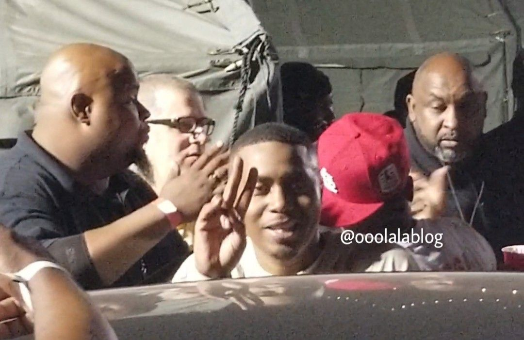 Inside Nas' listening party in Queens, New York for his new