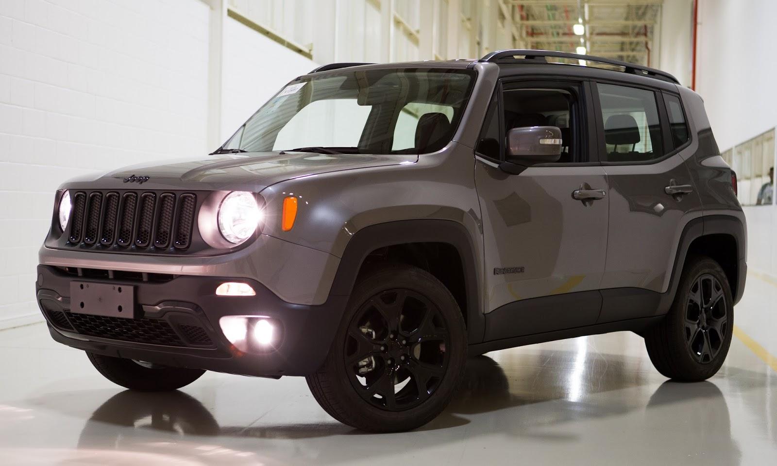jeep renegade ganha novidades em vers es e equipamentos na linha 2018. Black Bedroom Furniture Sets. Home Design Ideas