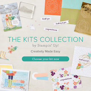 New Stampin Up Kits great for beginners and children as well as crafters