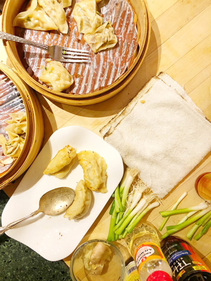 Dim Sum cooking class at Hartstone Inn
