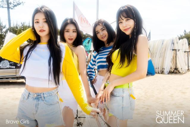 Brave Girls hacen comeback con Summer Queen en 2021