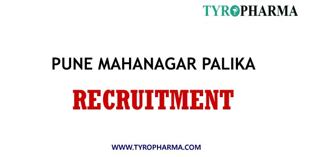 PMC Pune Mahanagarpalika Recruitment 2020 for 1105 multiple Posts