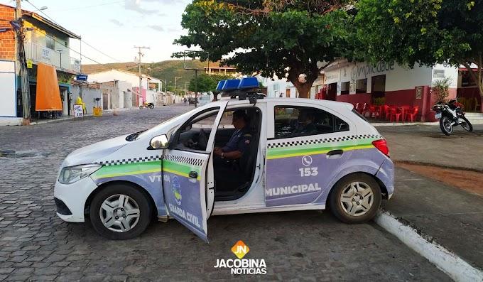 Guarda Municipal faz patrulhamento preventivo no bairro Jacobina III