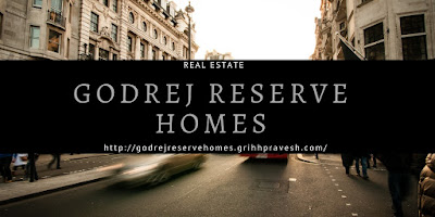 Godrej reserve homes in Bangalore.