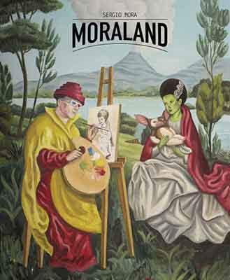 Moraland, Libro dedicado al arte de Sergio Mora