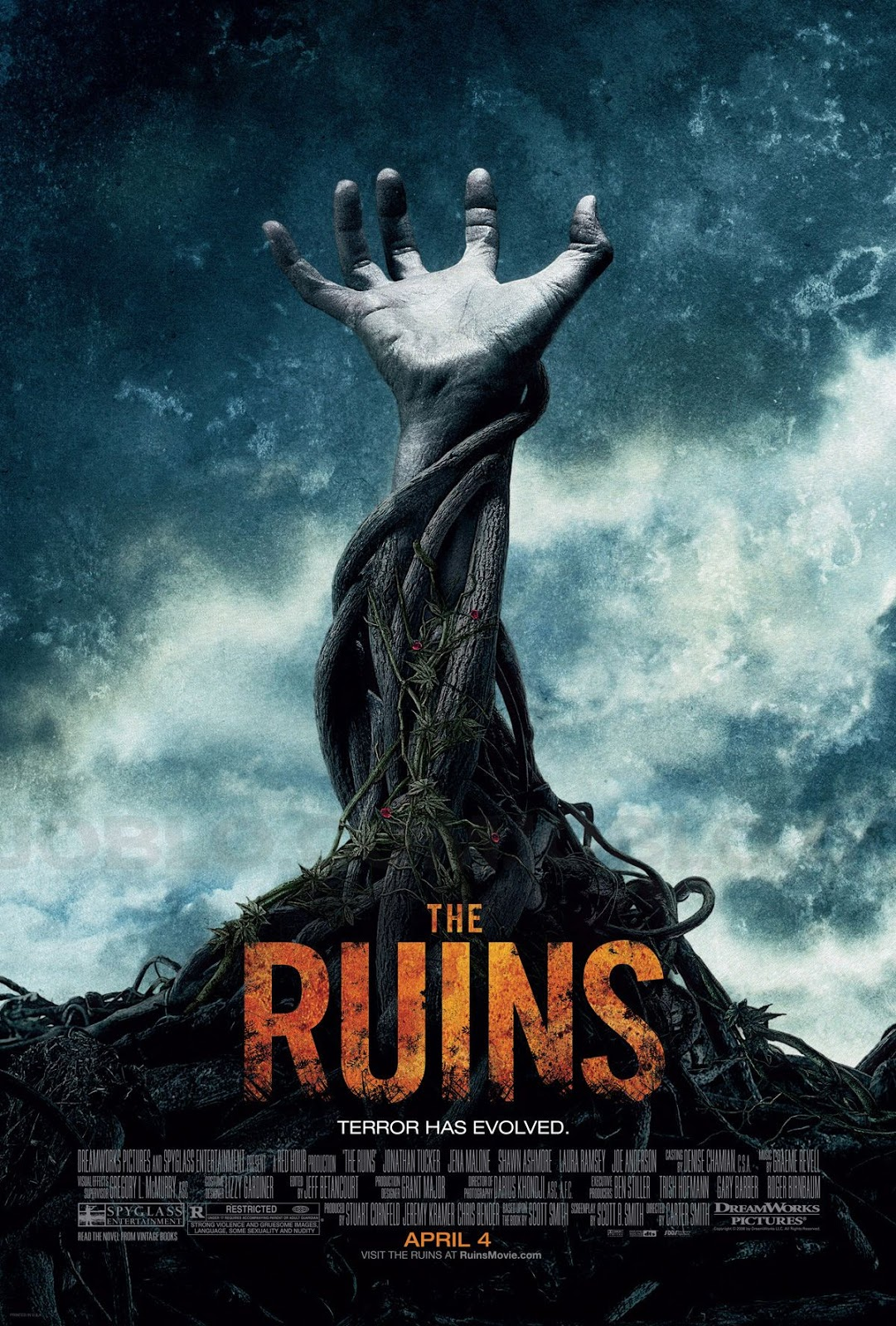 The Ruins 2008 Dual Audio Hindi English 720p BluRay Full Movie Free Download