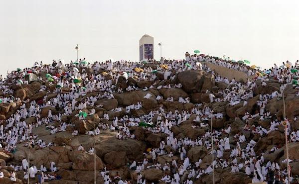 wuquf arafah 9 dzulhijjah