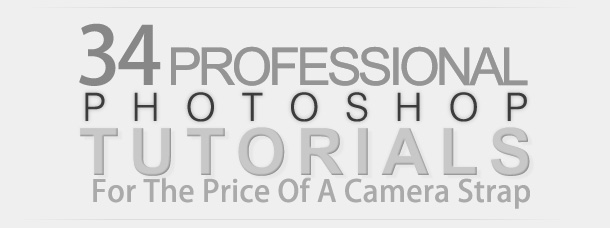 34 Professional Photoshop Tutorials