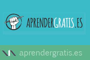 Aprender Gratis, web de recopilación de material formativo gratis